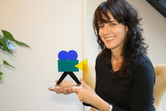 Carolna Jabor, réalisatrice de BONNE CHANCE, Prix du Public 2015 au Festival du cinéma brésilien de Paris !