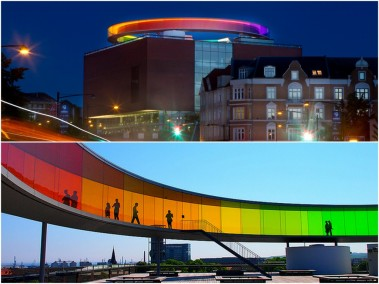 "Olafur Eliassion, ""Your rainbow panorama"""