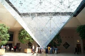 La pyramide inversée du Louvre /DR