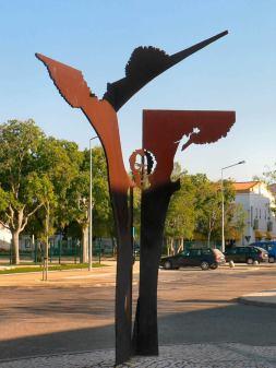 Le monument dédié à José Afonso à Grândola / © DR