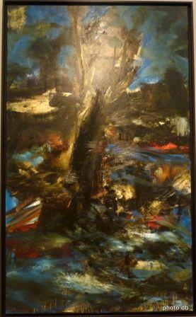 """Ronan Barrot, """"Le Vent"""", 2012,coll. particulière©db"""