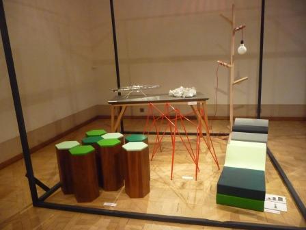 Galerie Joyce 2013, les créations design mobilier de Lise Lejeune © db