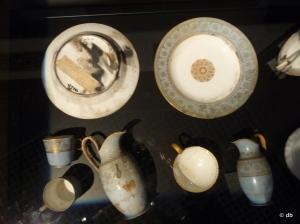 Quelques objets après l'incendie du château © db