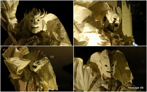 Mahabharata, les dieux masqués © Takuma Ushida (montage db)