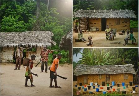 """""""Sur la route de Bikoro à Bokonda"""", Patrick Willocq © montage db"""