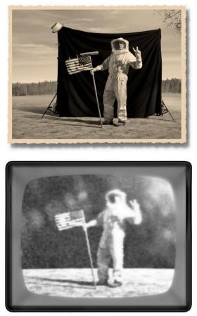 "Thomas Herbrich, ""The Moon Landing © montage db"