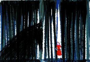 illustration de Marjolaine Leray pour l'édition Actes Sud Papiers © Marjolaine Leray
