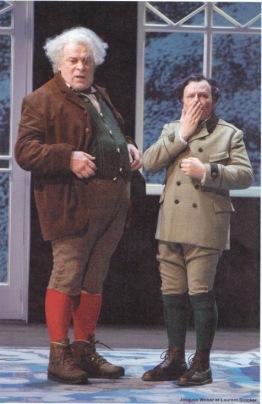 Jacques Weber (Martin) et Laurent Stocker (Agénor) ©Pascal Victor