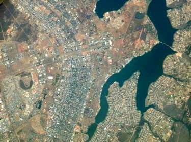 Brasilia, vue aérienne © João Facó