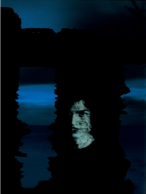 Alain Fleischer De sa série La nuit des visages, 1995 © Alain Fleischer, ADAGP