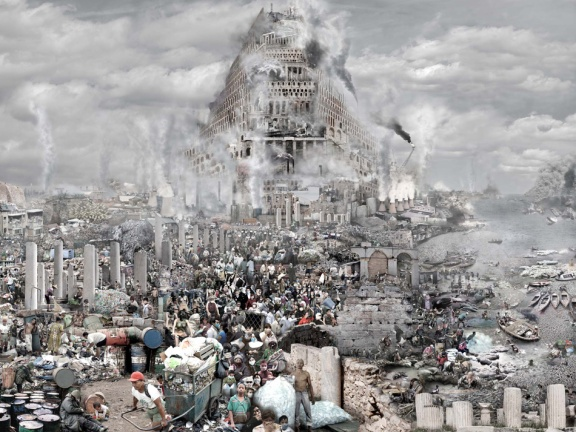 "Du Zhenjun,""Pollution"", 2011 © Du Zhenjun. Galerie RX, Paris"