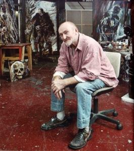 Coskun dans son atelier © Fabrice Robin
