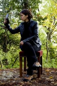 Pauline Fouché et le miroir noir © Pauline Fouché