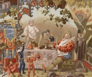 Détail histoire de Gargantua, France 1888 © Musée Mulhouse