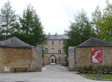 Entrée du Musée des Beaux-Arts et de la Dentelle à Alençon © DR
