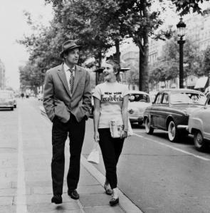 """À bout de souffle"", JL Godard, 1959 © Raymond Cauchetier"