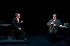 """Michel Favory et Louis Arene, """"La Fleur a la bouche"""" de Luigi Pirandello © Brigitte Enguerand / Divergence"""
