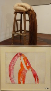 "B.de Bruckere,""Caroline"" / Louise Bourgeois, ""Altered states"" © db"