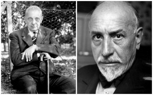 GiuseppeTomasi di Lampedusa (1896-1957) et Luigi Pirandello (1867-1936) © DR