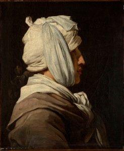 François-André VINCENT,  Portrait de Lemonnier à la tête bandée, 1774 - 1775 © Marseille, musée des Beaux-Arts / Chipault-Soligny