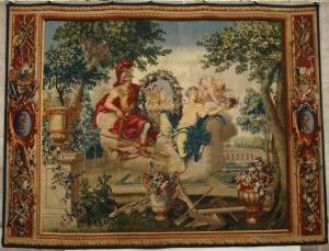 Le Brun, Le Printemps, Tapisserie des Gobelins 1709 © Mobilier national/Isabelle Bideau