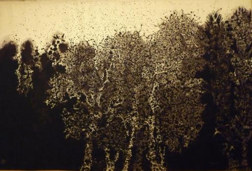 Mario Prassinos, Parc ou verdure contemporaine, tapisserie de Beauvais 1985 © Ph. Sebert