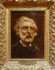 """Auguste-Marie Boiulard, """"Portrait de Jules Dupré deux mois avant sa mort"""",  Musée Louis Senlecq © db"""