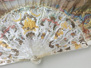 Le mariage du Dauphin Louis-Ferdinand,1745:Londres, The Fan Museum ©Martine Beck Coppola