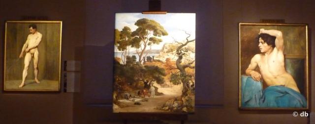 """E.Dantan, trois toiles de la période """"académique"""", au centre """"L'Automne"""", 1877, Prix Jauvin du paysage © Beaux-Arts de Paris"""