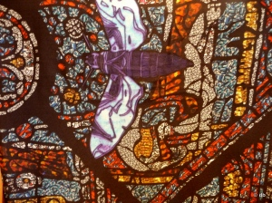 Détail d'un foulard de Astrid Sarkissian ©db