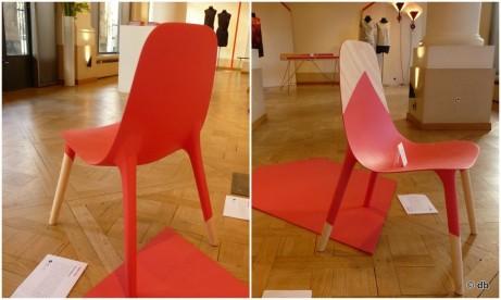 """La chaise fauteuil """"Baby pop"""" de Paul Venaille"""