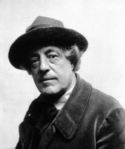 Adolphe Léon Willette en 1913 © Agence Meurisse