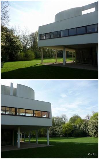 La villa Savoye © db