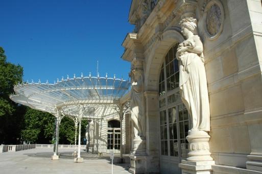 Le Casino Opéra, entrée © Laurence Plancke/ville de Vichy