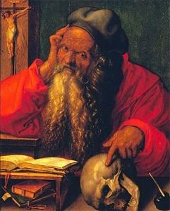 """Albrecht Dürer, """"Saint Jérôme dans son cabinet d'étude"""", 1521 © Museu de Arte Antigua, Lisbonne"""