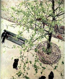 "Caillebotte, ""Le boulevard vu d'en haut"", 1880 / Coll. part. Berhaut"