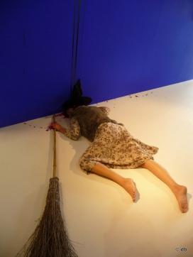 """""""Histoires sans sorcière"""", Pierre Joseph,""""La sorcière (Personnage à réactiver)"""", 1993 ©db"""