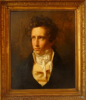Jean Alaux, Portrait de Taylor, Coll Mutuelle nationale des artistes/ Photo db