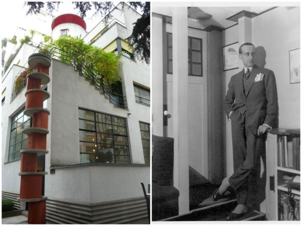 Robert Mallet-Stevens vers 1924/ DR - Maison-Atelier des frères Martel, rue Mallet-Stevens © db