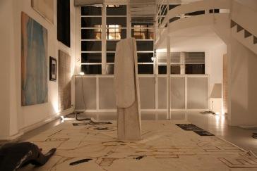 """Vue de l'exposition """"Le musée d'une nuit"""" /Photo : Aurélie Cenno /Courtesy Fondation Hippocrène"""
