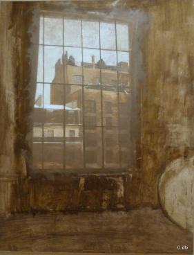 """Jean-Baptiste Sécheret, """"Vue de mon atelier"""", 1997-1998 © db"""