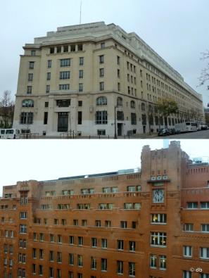 Ministère des Affaires sociales, extérieur et cour intérieure © db