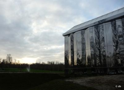 Château de Rentilly, Le jour finissant…© db