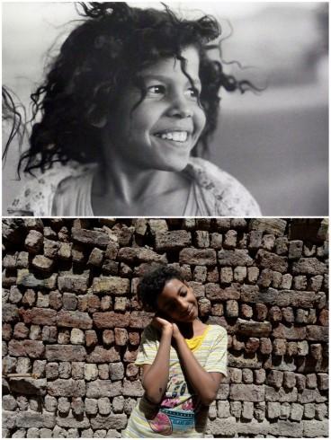 """La petite Egyptienne"", 1983 © Sabine Weiss // 2014 ©Philippe Guionie / MYOP"