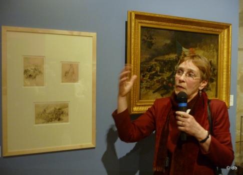 Constance CAIN-HUNGERFORD, Musée du Jouet, lors de l'inauguration de l'exposition, le 26/03/2015 © db