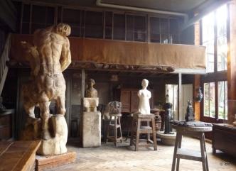 Musée Bourdelle, l'atelier du sculpteur © db