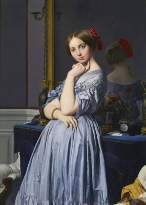 Jean-Auguste-Dominique Ingres (1780 - 1867) Comtesse d'Haussonville, 1845 Acquis par The Frick Collection, 1927.