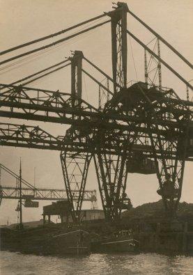 "Pont roulant Rotterdam, série ""Metal"", vers 1926 ©"