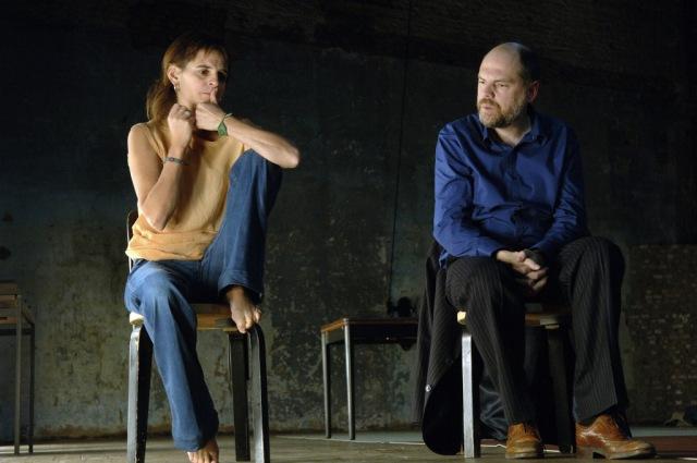 """""""Trahisons"""", tg STAN/ Théâtre de la Bastille/ Jolente de Keersmaeker et Franck Vercruyssen © Paul De Malsche"""