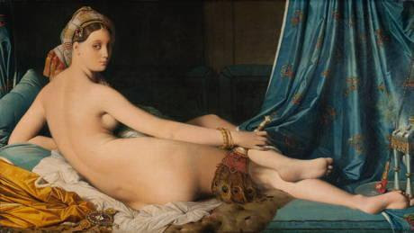Jean-Auguste-Dominique Ingres, La Grande Odalisque, Musée du Louvre, acquis en 1899